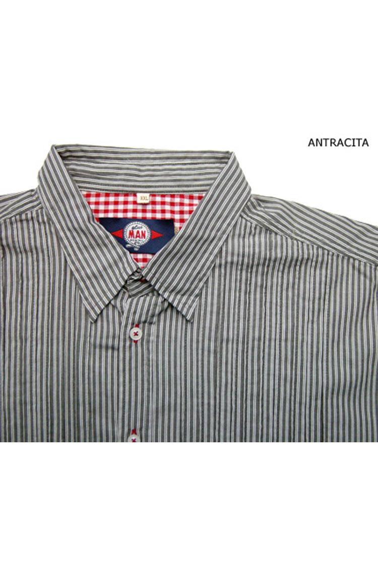 Camisas, Sport Manga Larga, 104131, ANTRACITA | Zoom