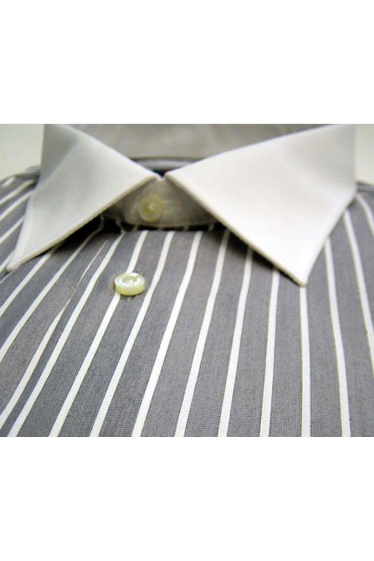 Camisas, Vestir Manga Larga, 104179, GRIS MEDIO | Zoom