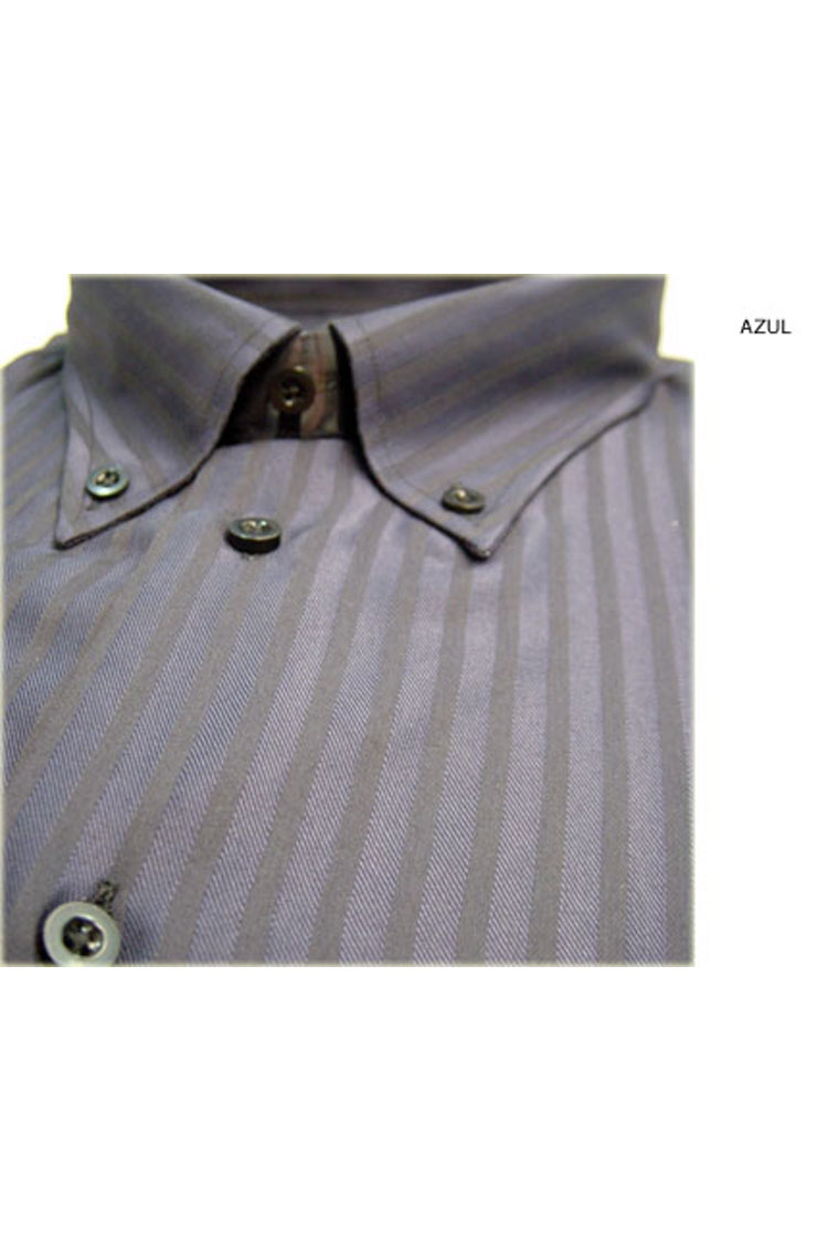 Camisas, Sport Manga Larga, 104189, AZUL | Zoom