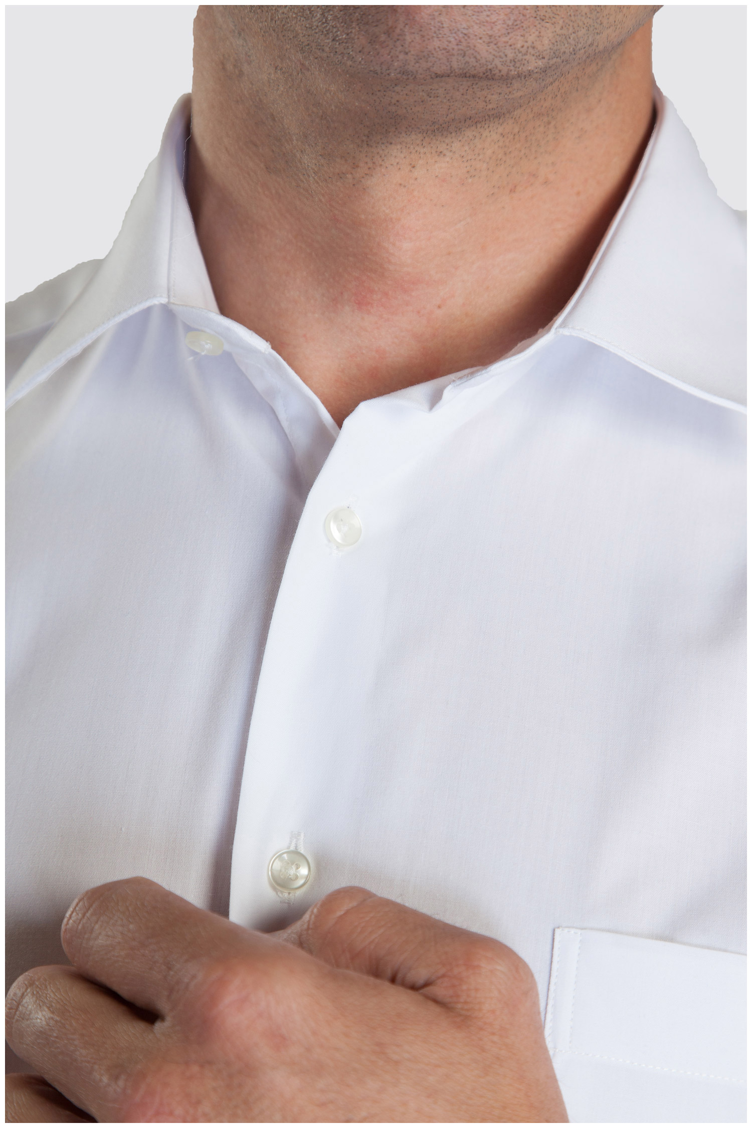 Camisas, Vestir Manga Larga, 104226, BLANCO | Zoom
