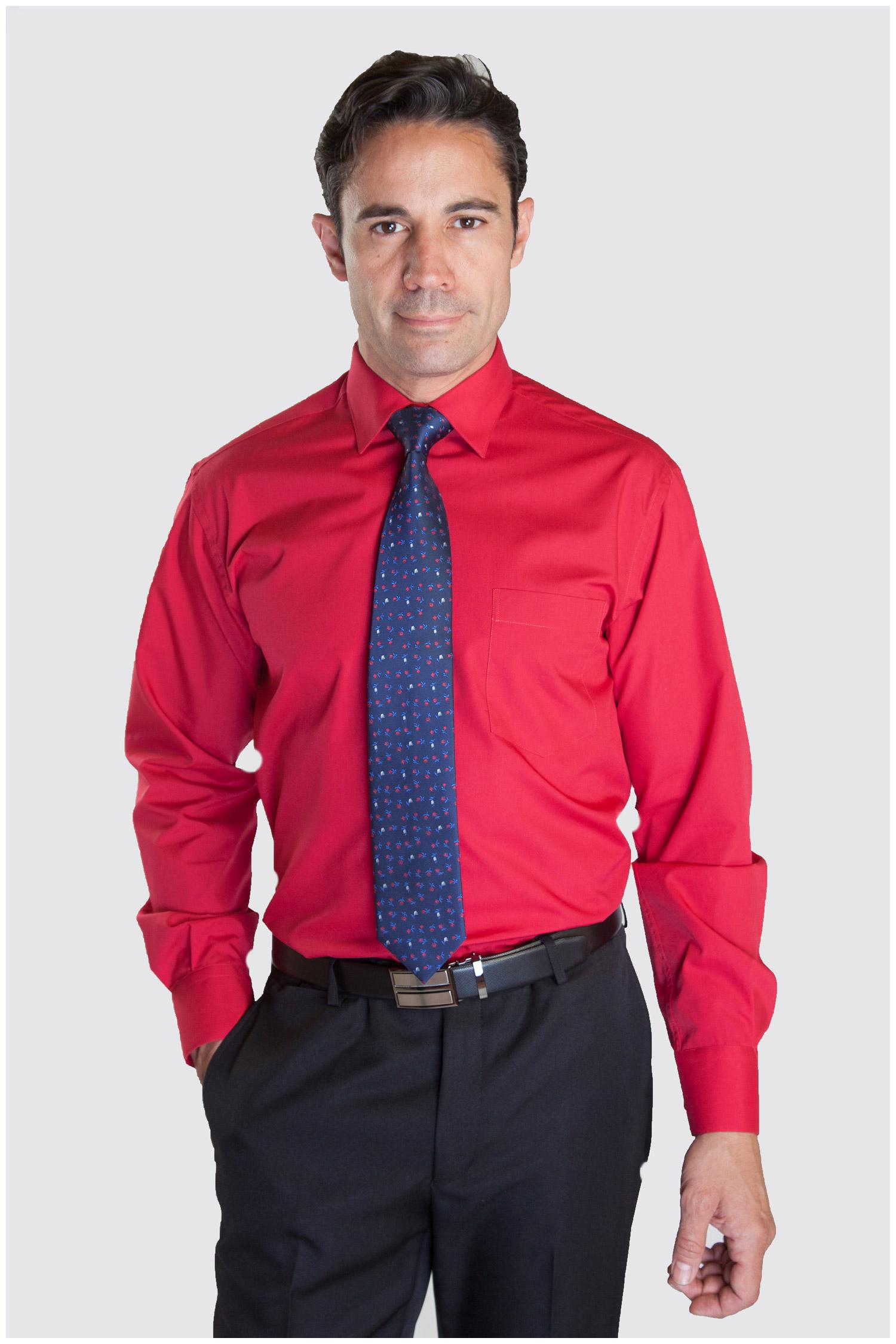 Camisas, Vestir Manga Larga, 104226, RUBI | Zoom