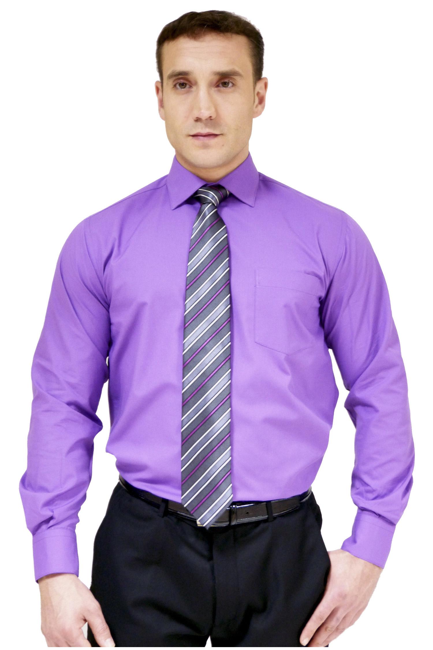 Camisas, Vestir Manga Larga, 104226, MORADO | Zoom