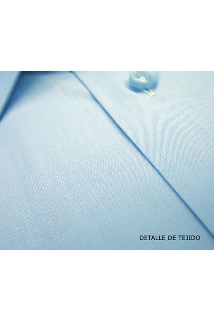 Camisas, Vestir Manga Corta, 104227, CELESTE | Zoom