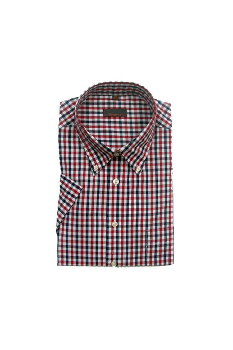 Camisas, Sport Manga Corta, 104358, GRANATE | Zoom