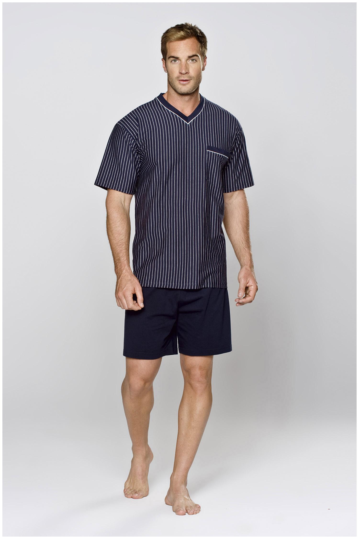 Homewear, Pijama M. Corta, 104363, MARINO | Zoom