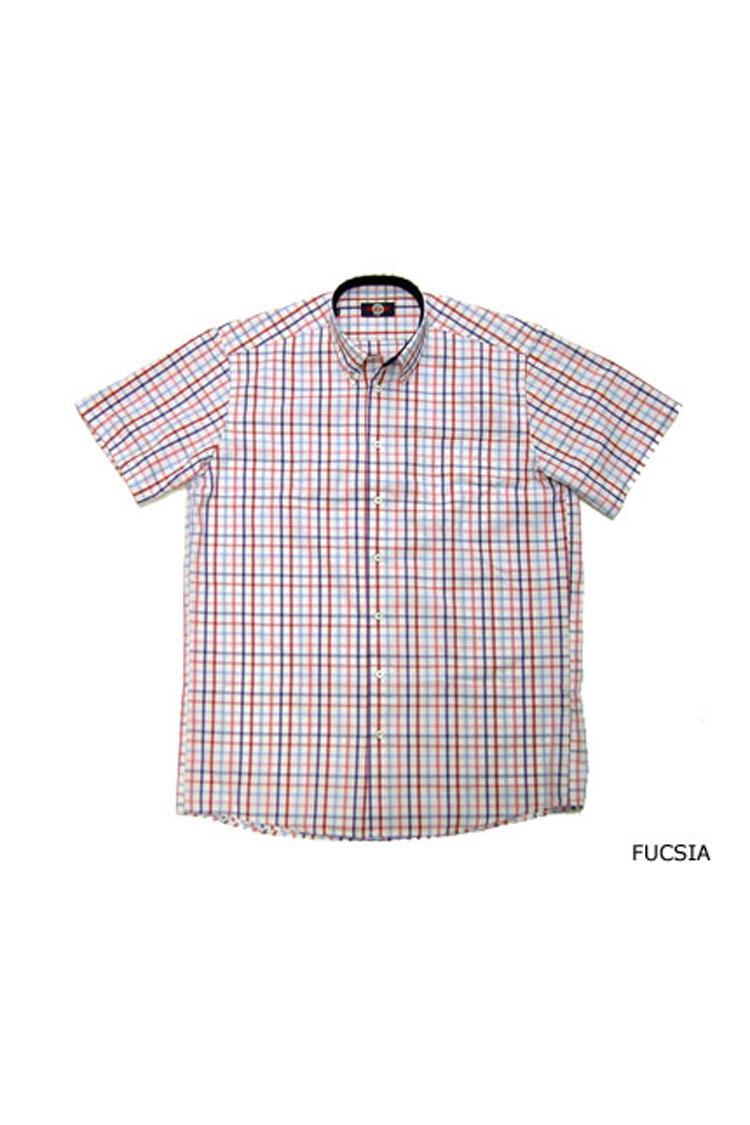 Camisas, Sport Manga Corta, 104377, FUCSIA | Zoom