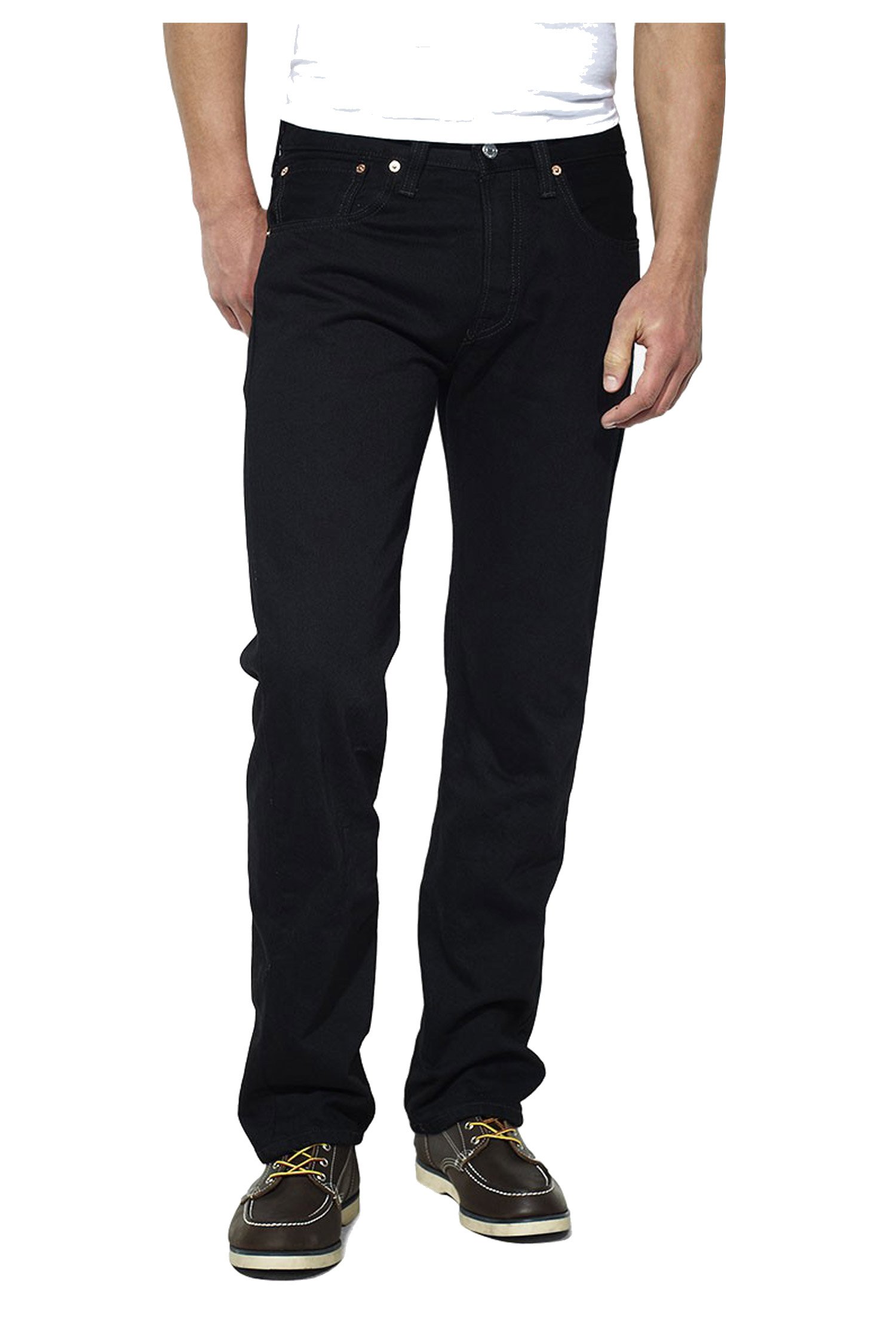 Pantalones, Vaqueros, 104544, NEGRO | Zoom