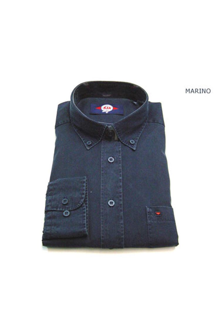 Camisas, Sport Manga Larga, 104650, MARINO   Zoom