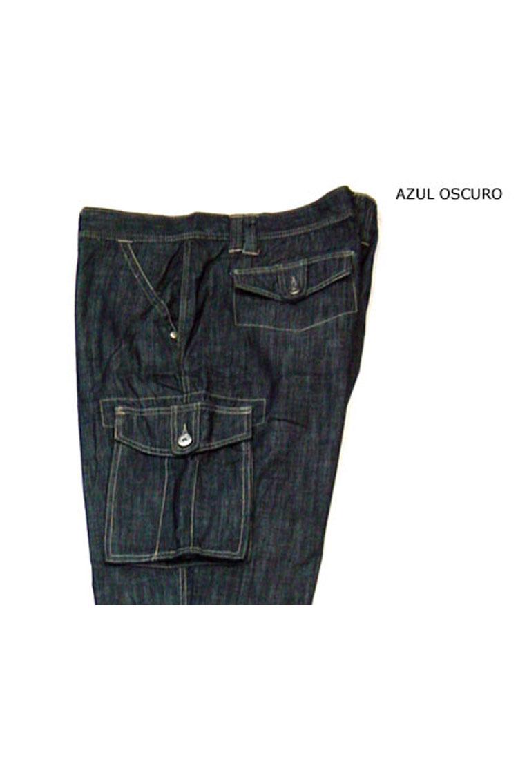 Pantalones, Vaqueros, 104759, AZUL OSCURO | Zoom