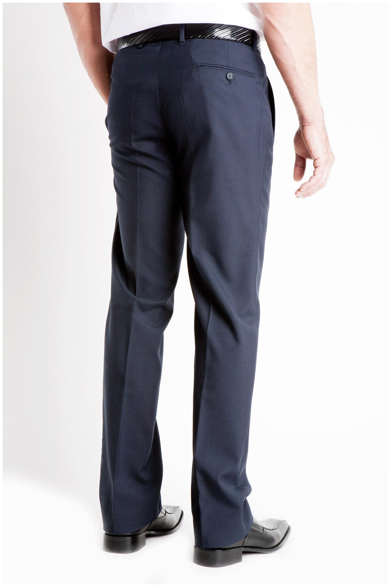 Pantalones, Vestir, 104991, MARINO | Zoom