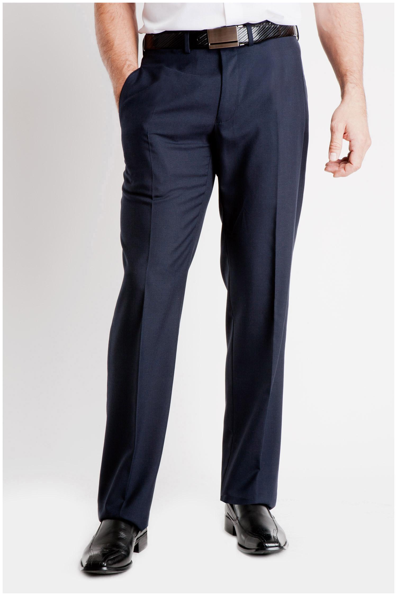 Pantalones, Vestir, 104994, MARINO | Zoom