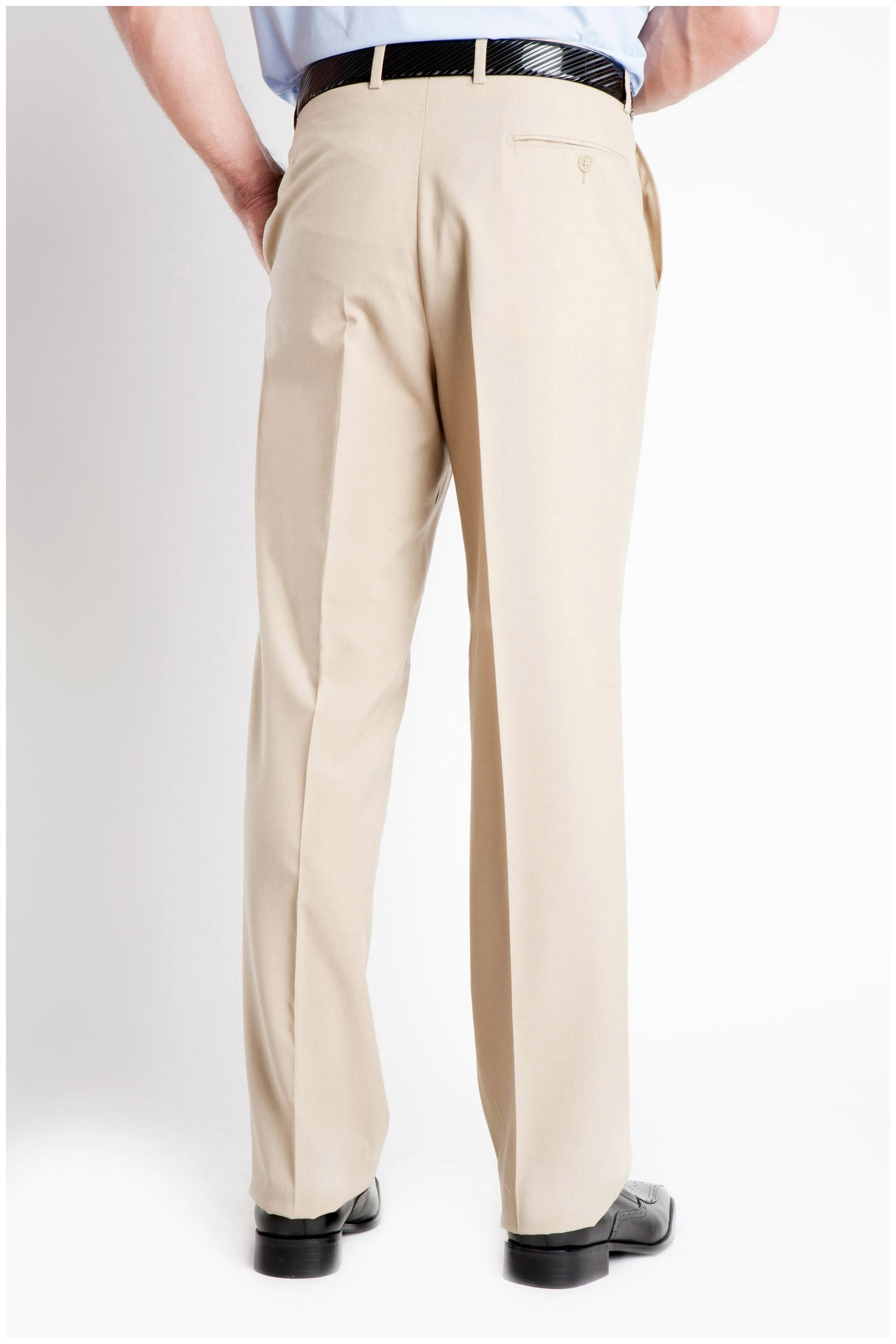 Pantalones, Vestir, 104994, BEIGE | Zoom