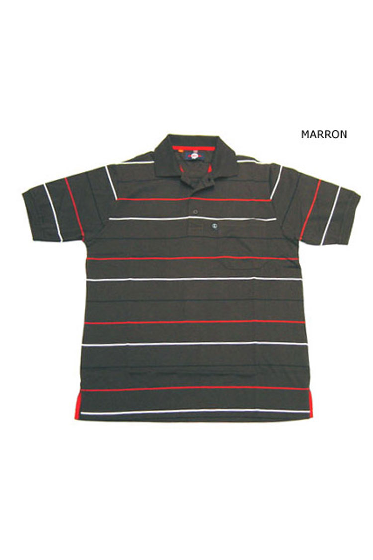 Sport, Polos M. Corta, 105082, MARRON | Zoom