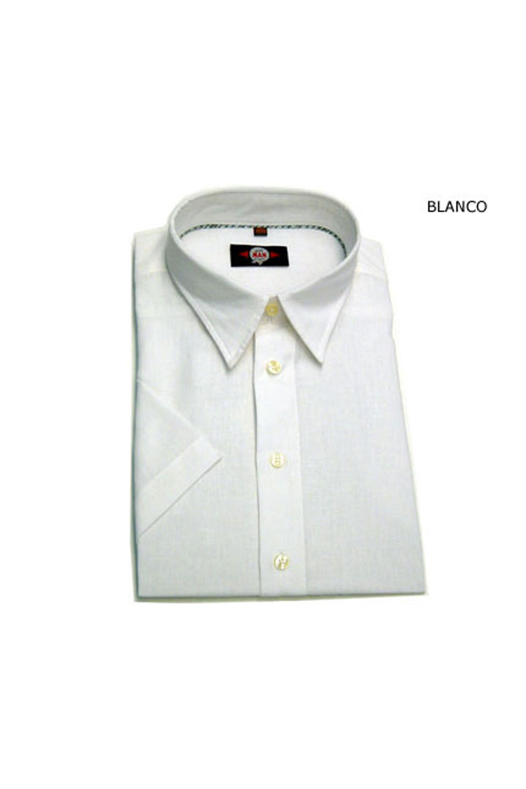 Camisas, Sport Manga Corta, 105087, BLANCO | Zoom