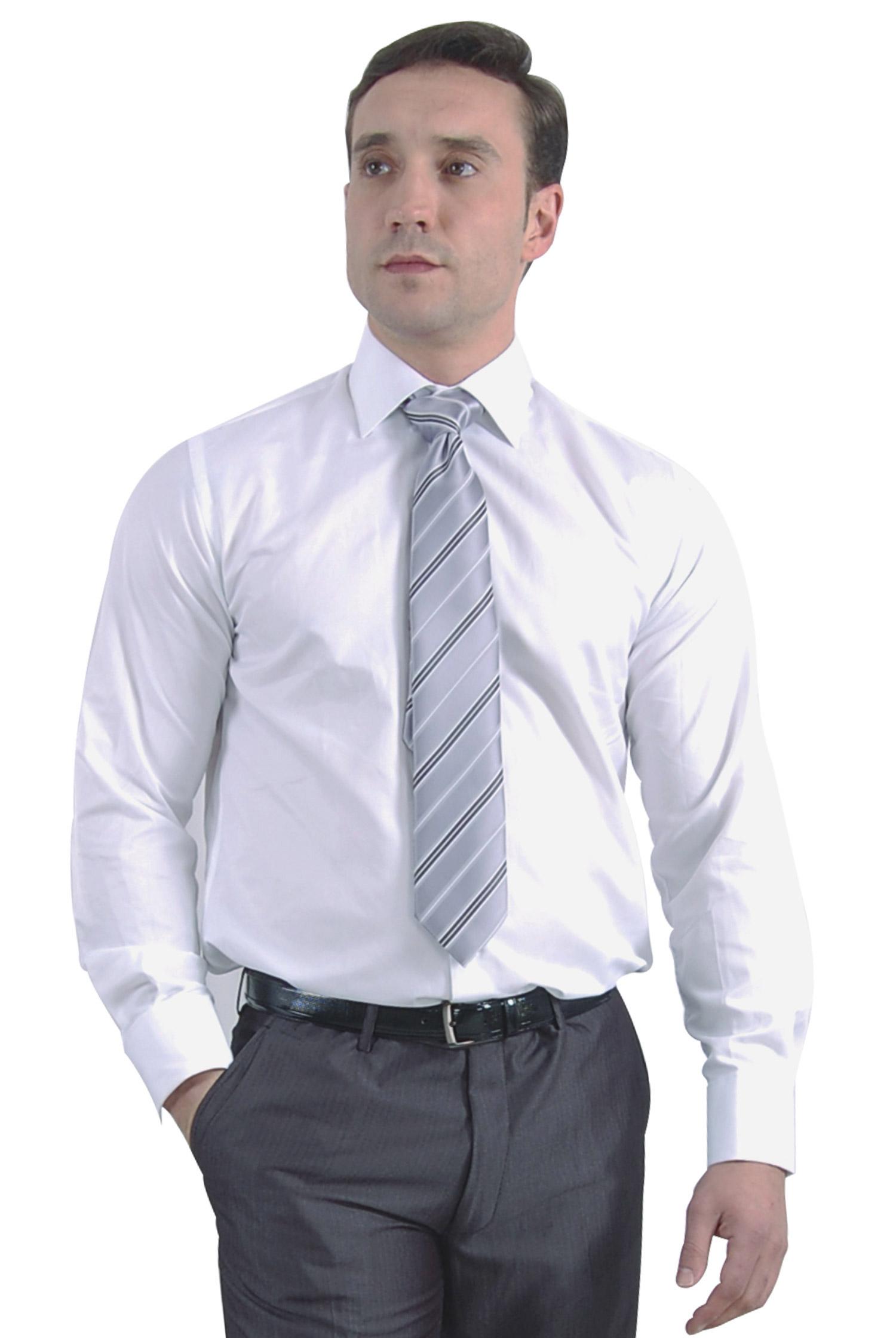 Camisas, Vestir Manga Larga, 105092, BLANCO | Zoom