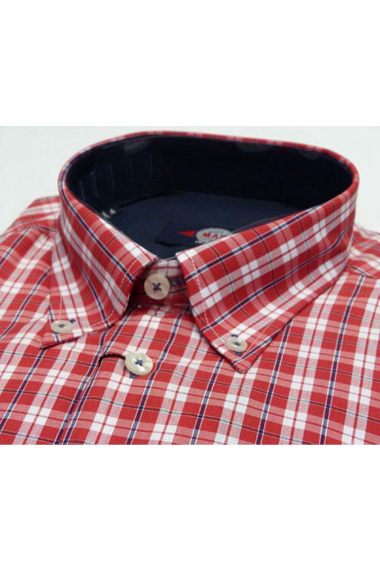 Camisas, Sport Manga Corta, 105173, ROJO | Zoom