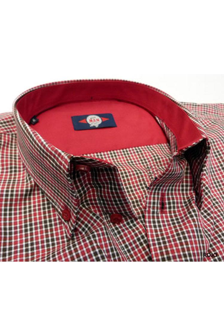 Camisas, Sport Manga Larga, 105352, GRANATE | Zoom