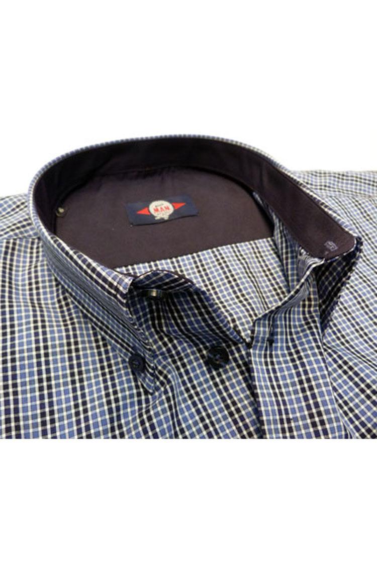 Camisas, Sport Manga Larga, 105352, MARINO | Zoom
