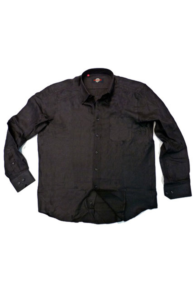 Camisas, Sport Manga Larga, 105489, NEGRO | Zoom