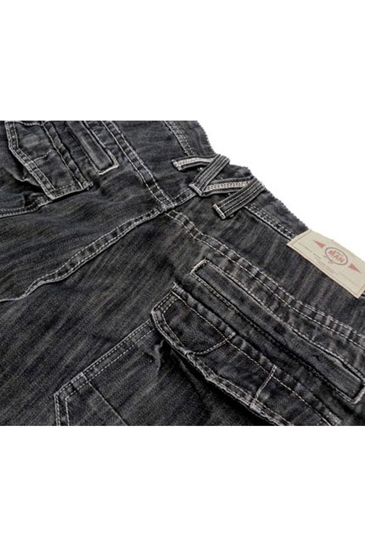 Pantalones, Vaqueros, 105612, AZUL MOJADO | Zoom