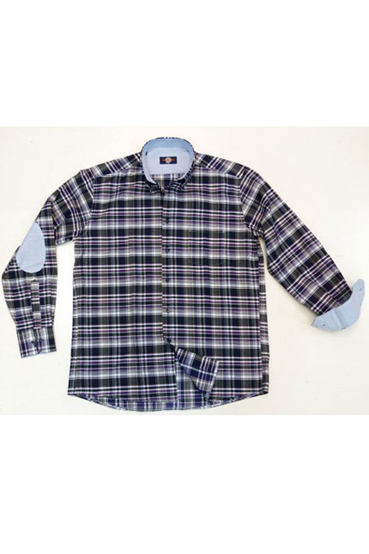 Camisas, Sport Manga Larga, 105646, MARINO | Zoom