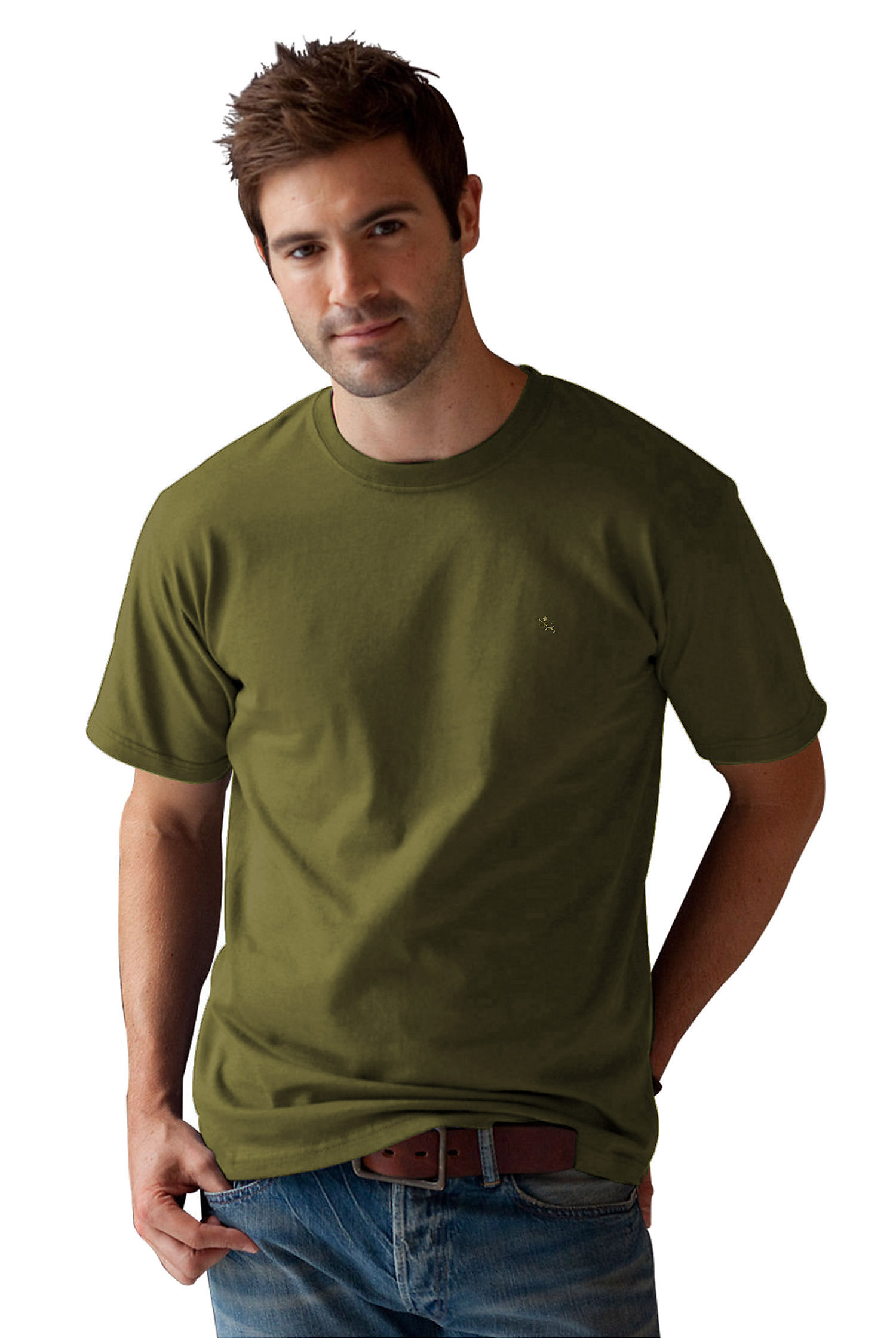 Sport, Camisetas M. Corta, 105835, OLIVA | Zoom