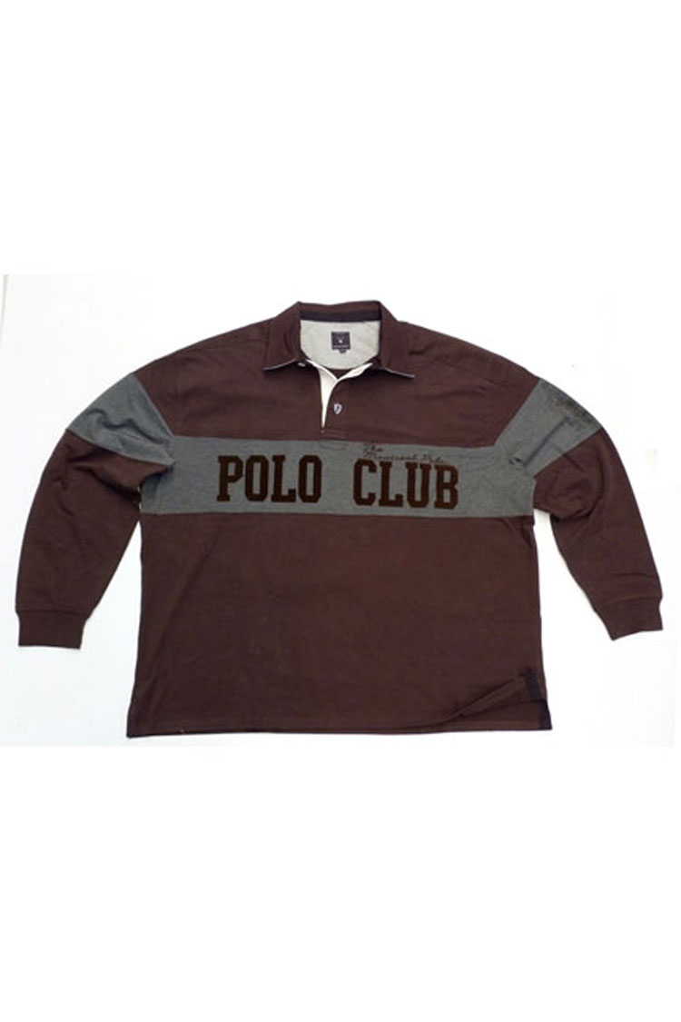 Sport, Polos M. Larga, 105934, MARRON | Zoom