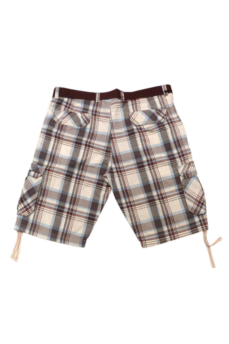 Pantalones, Bermudas, 106011, MARRON | Zoom