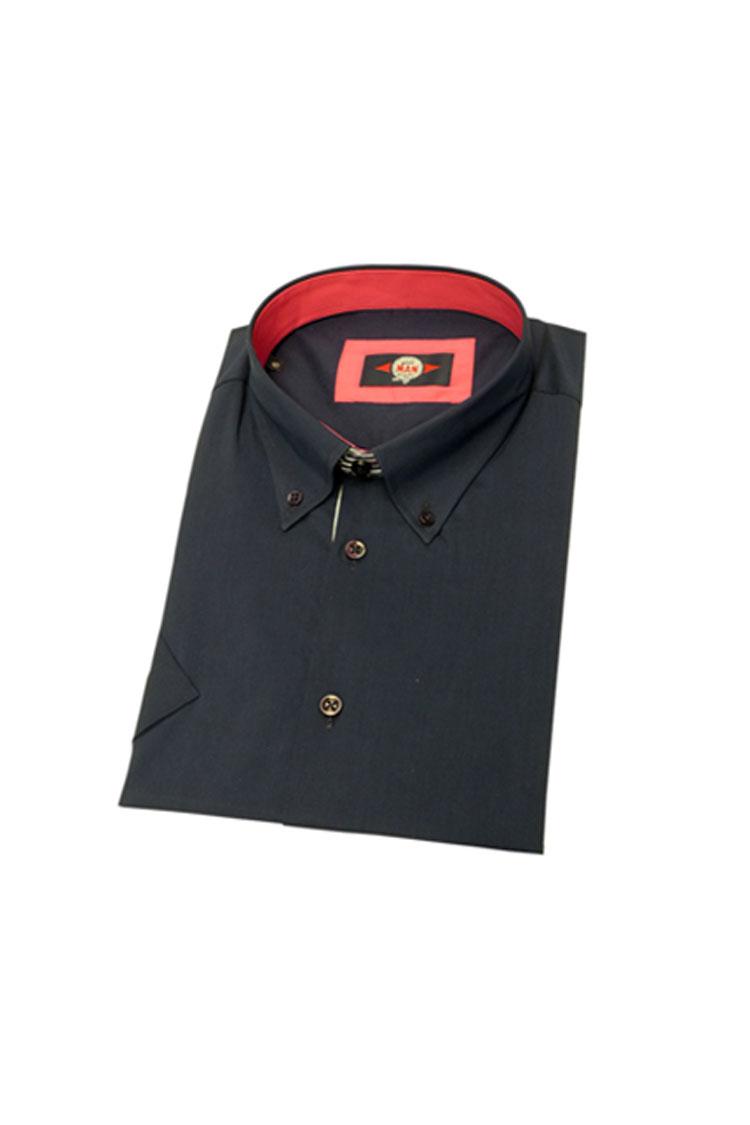 Camisas, Sport Manga Corta, 106014, MARINO | Zoom