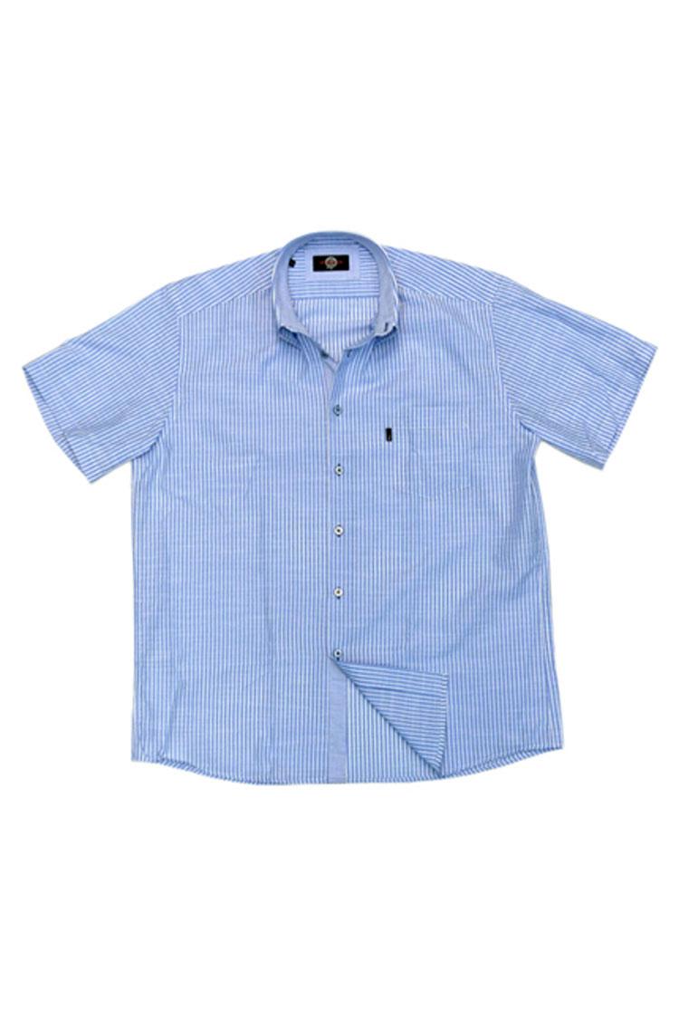 Camisas, Sport Manga Corta, 106025, CELESTE | Zoom