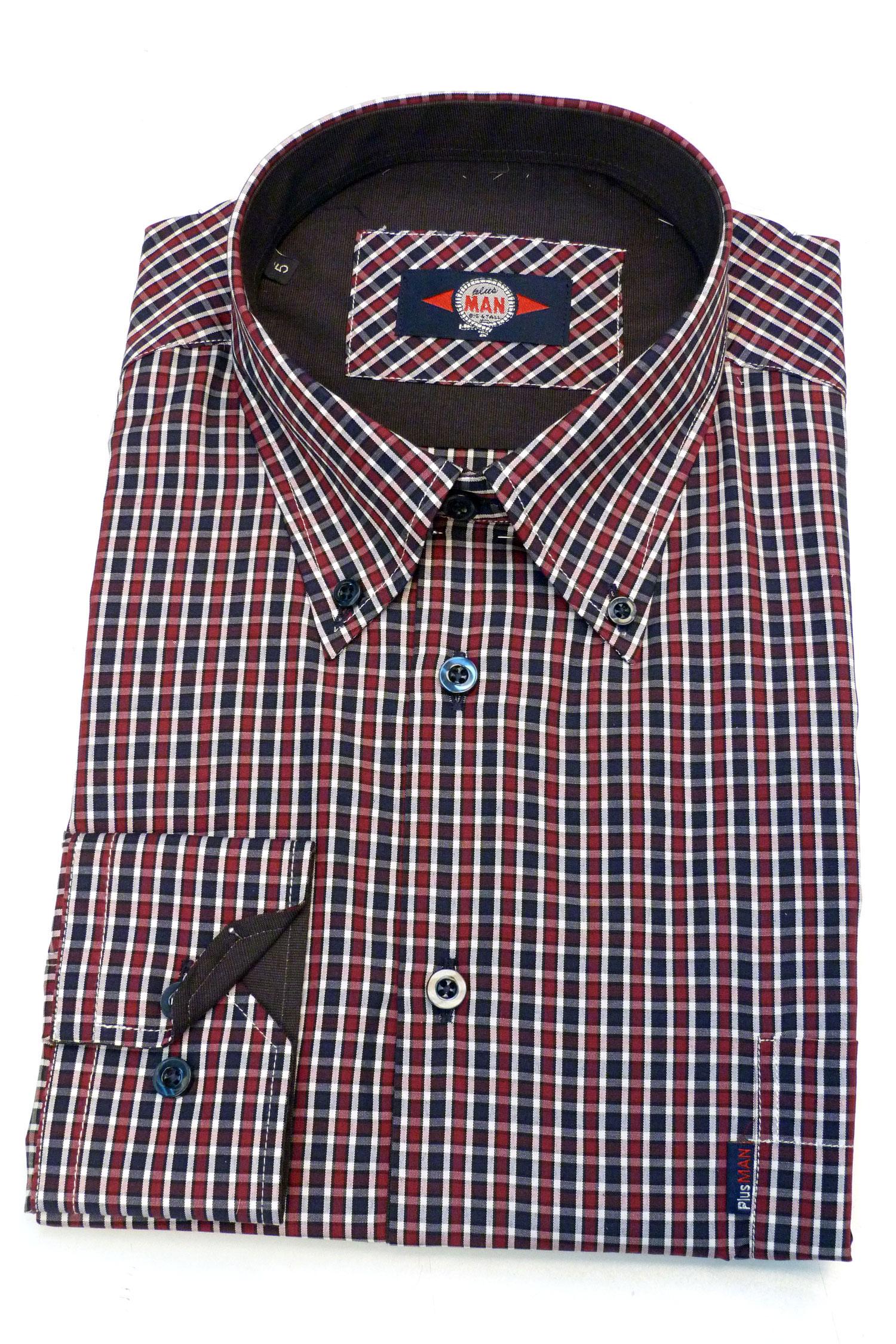 Camisas, Sport Manga Larga, 106176, GRANATE | Zoom