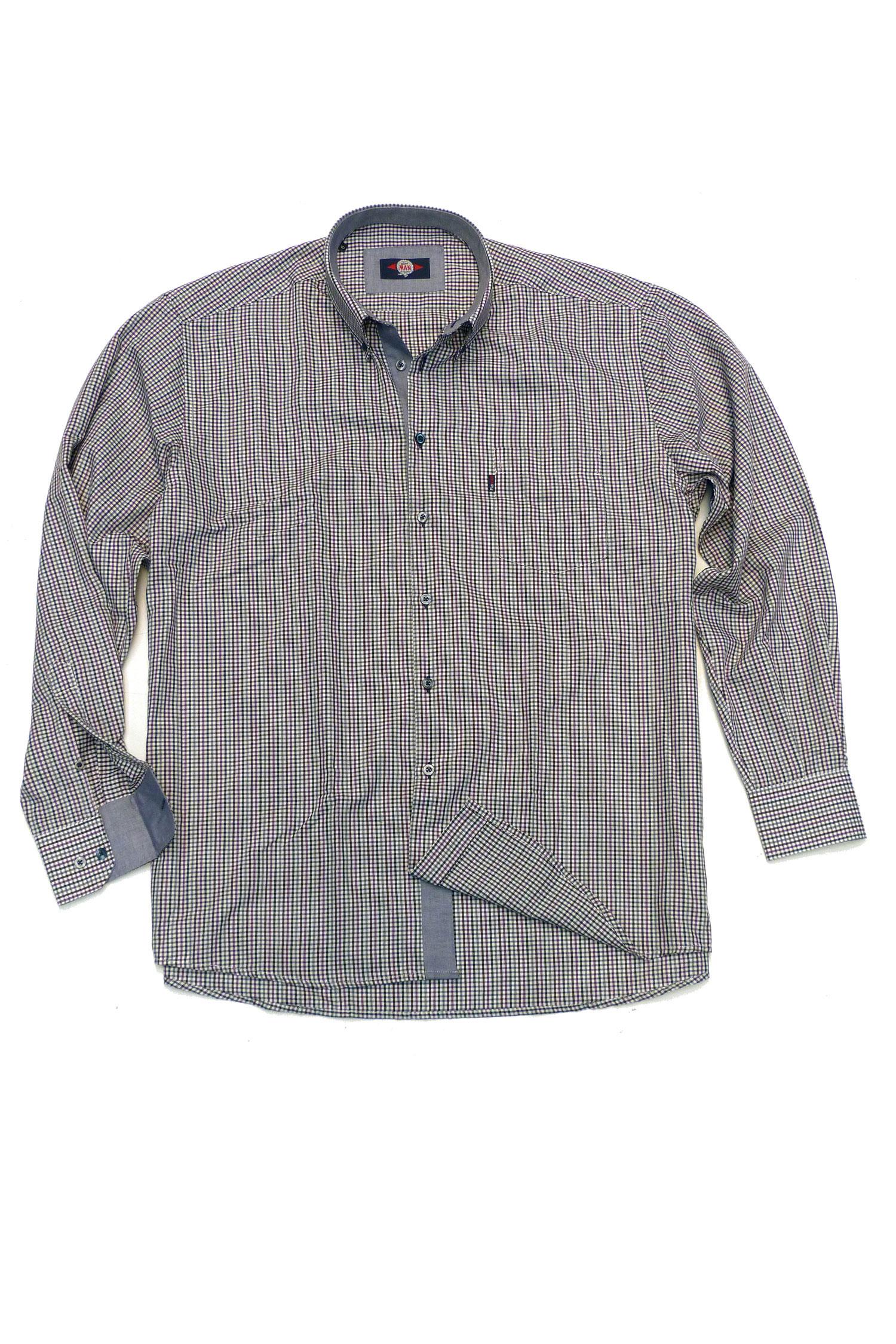 Camisas, Sport Manga Larga, 106177, MORADO | Zoom