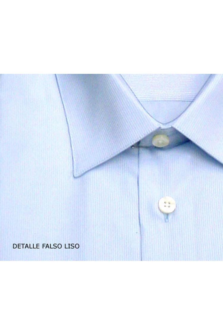 Camisas, Vestir Manga Larga, 106178, CELESTE | Zoom