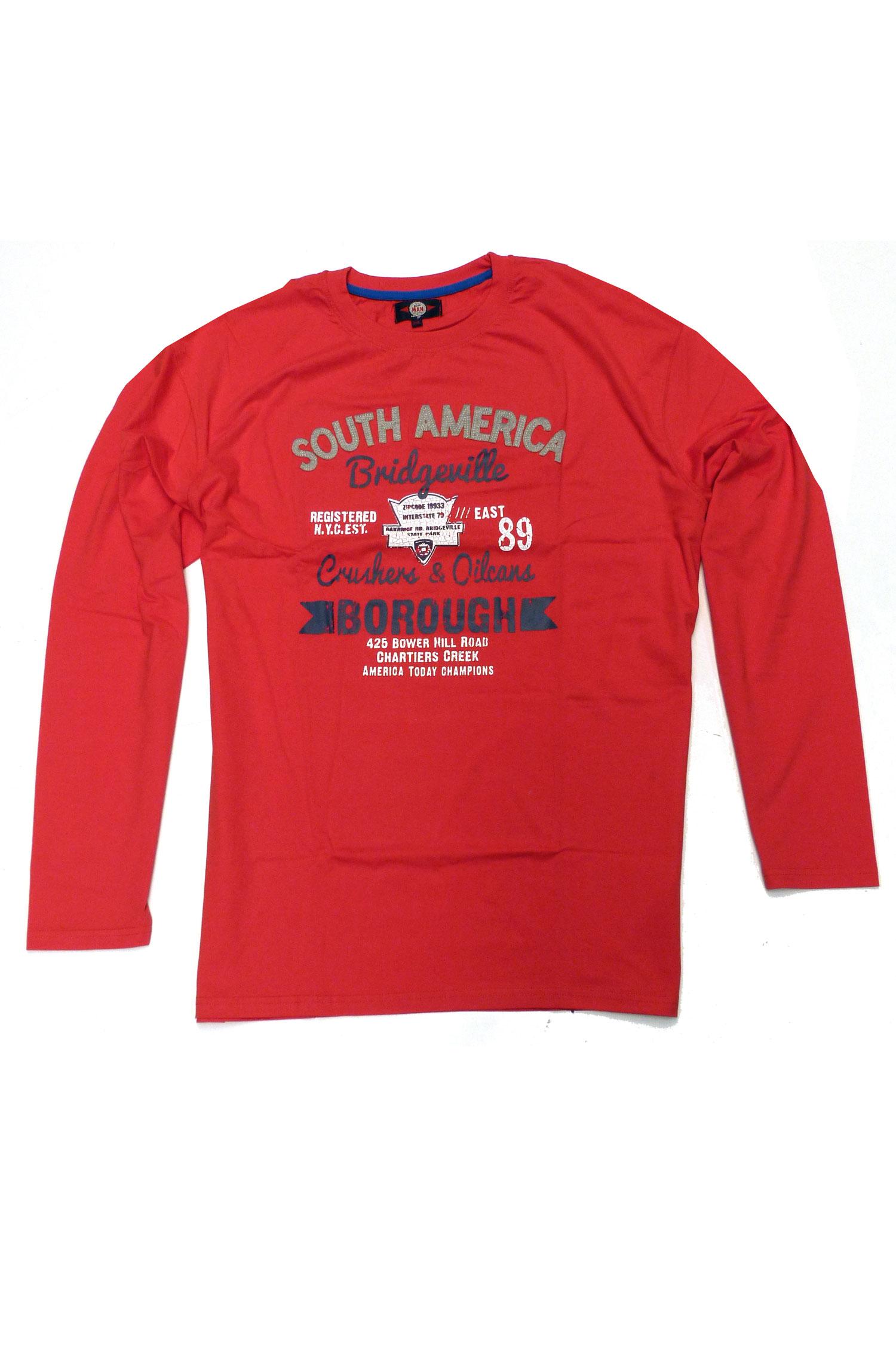 Sport, Camisetas M. Larga, 106181, ROJO | Zoom