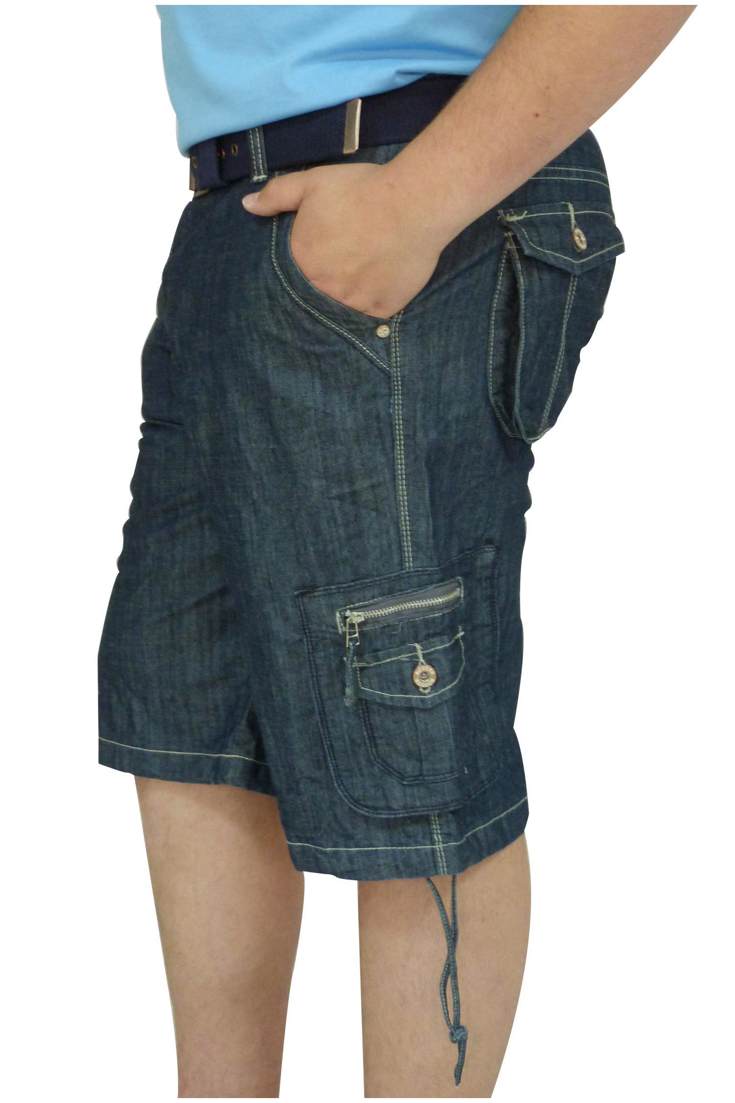Pantalones, Bermudas, 106442, INDIGO | Zoom