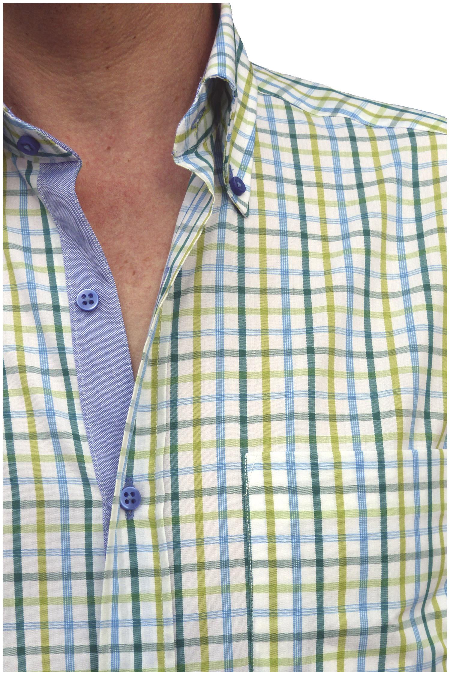 Camisas, Sport Manga Corta, 106474, VERDE | Zoom