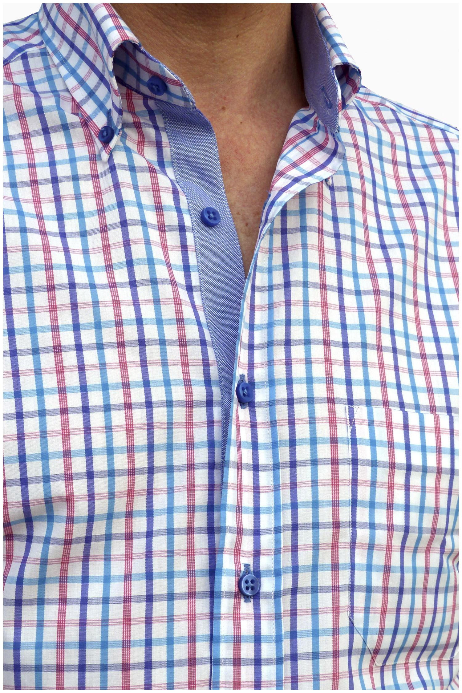Camisas, Sport Manga Corta, 106474, MARINO | Zoom
