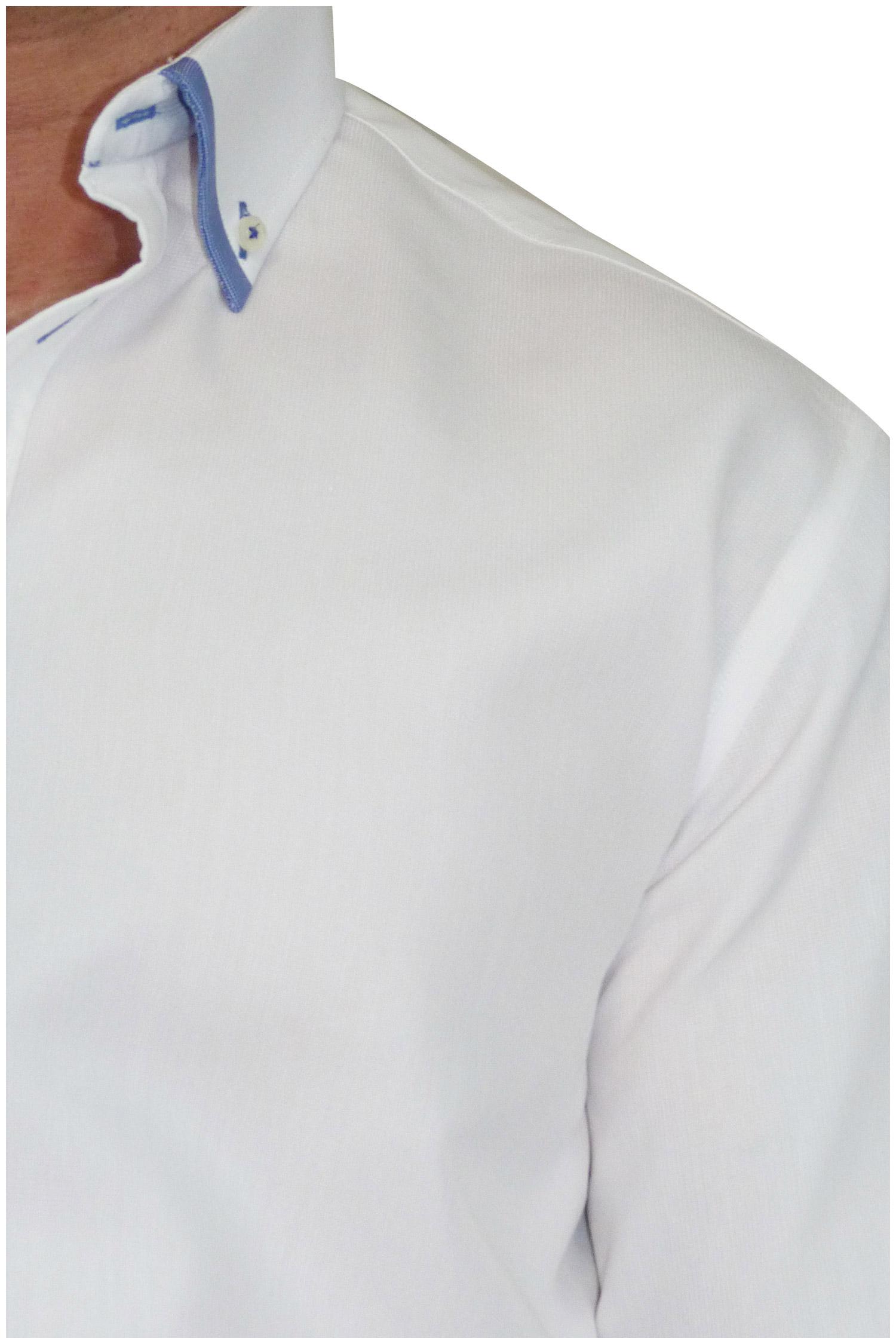 Camisas, Sport Manga Larga, 106490, BLANCO | Zoom