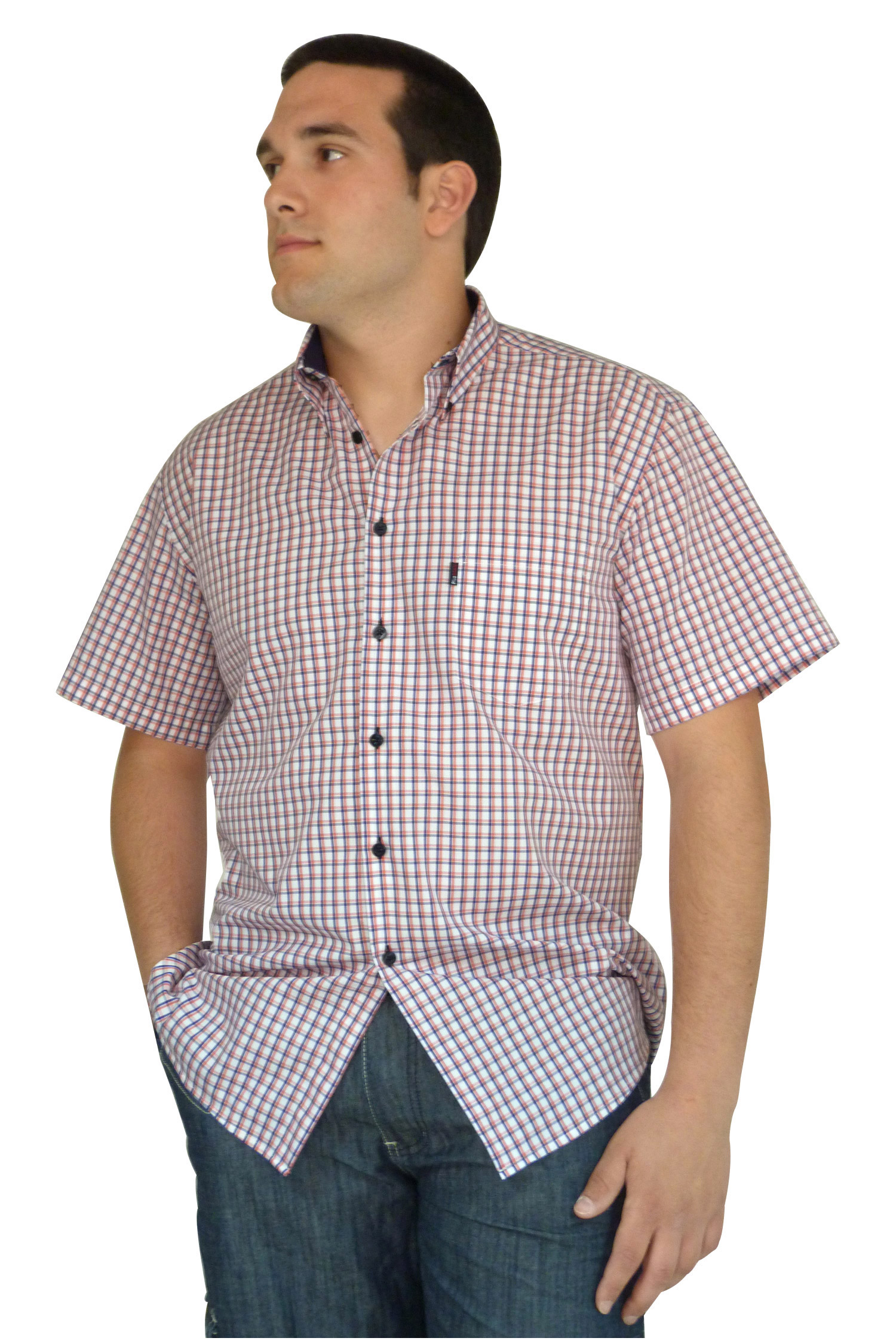 Camisas, Sport Manga Corta, 106495, CORAL | Zoom