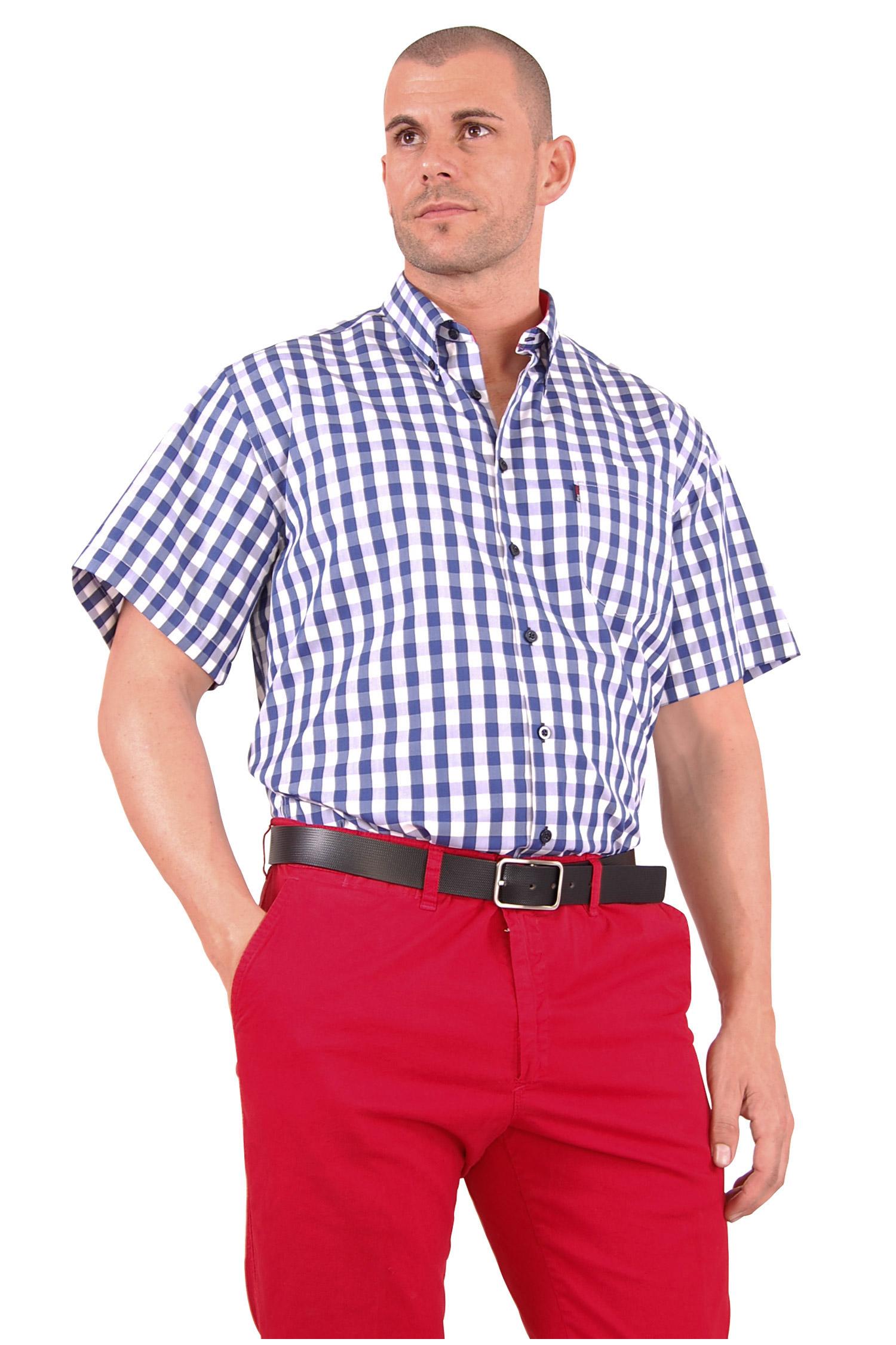 Camisas, Sport Manga Corta, 106496, MARINO | Zoom