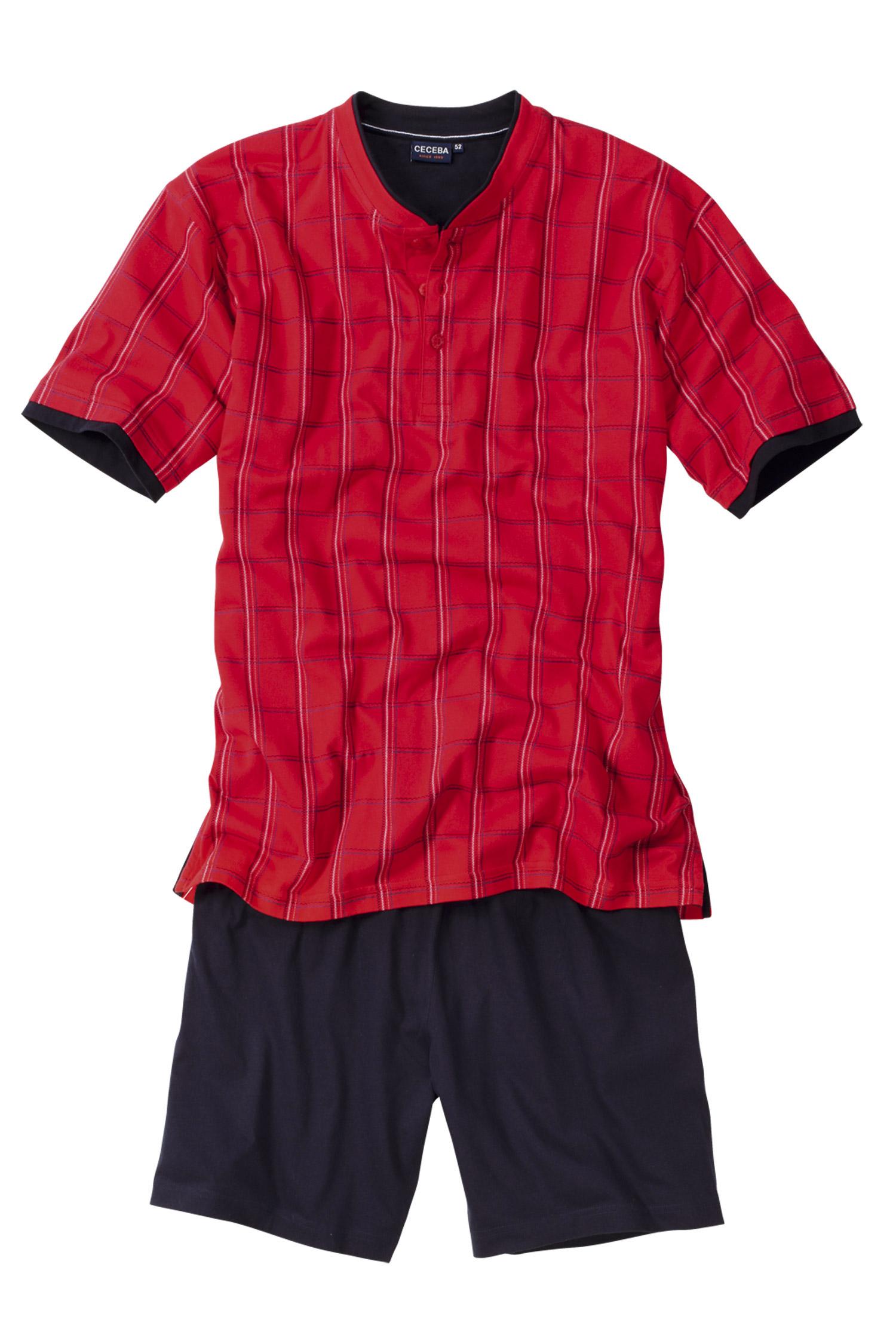 Homewear, Pijama M. Corta, 106499, ROJO | Zoom