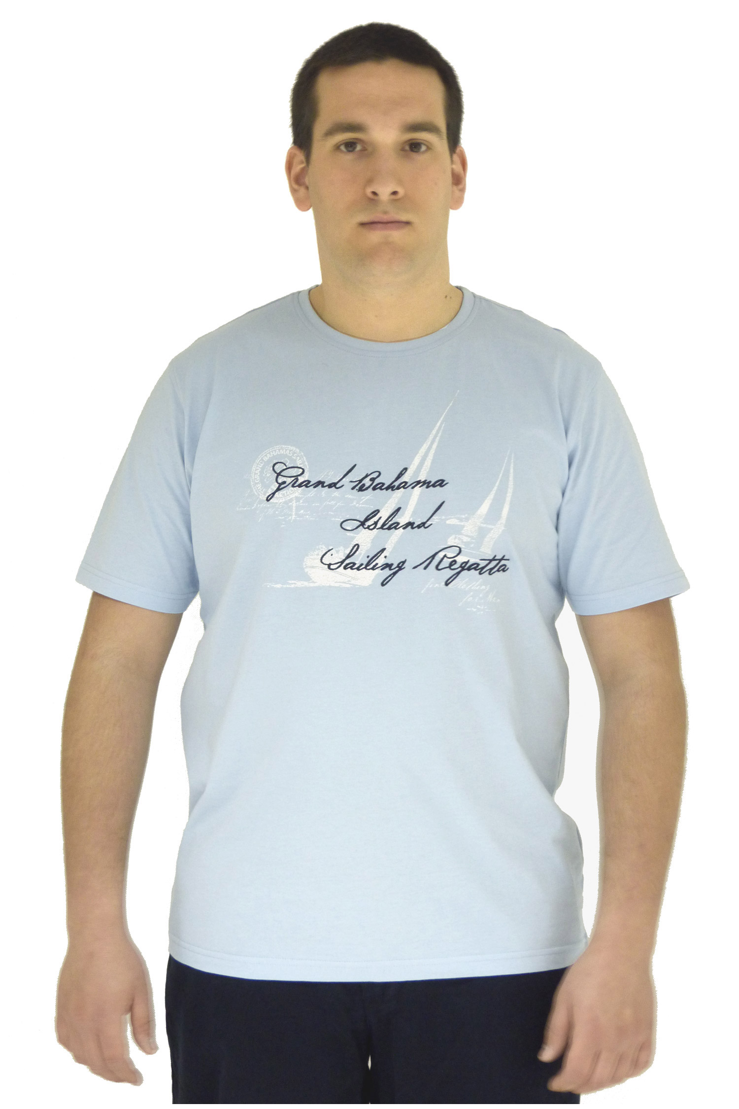 Sport, Camisetas M. Corta, 106536, CELESTE | Zoom