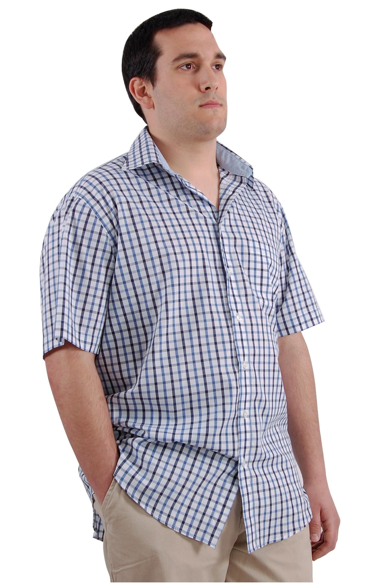 Camisas, Sport Manga Corta, 106567, MARINO | Zoom
