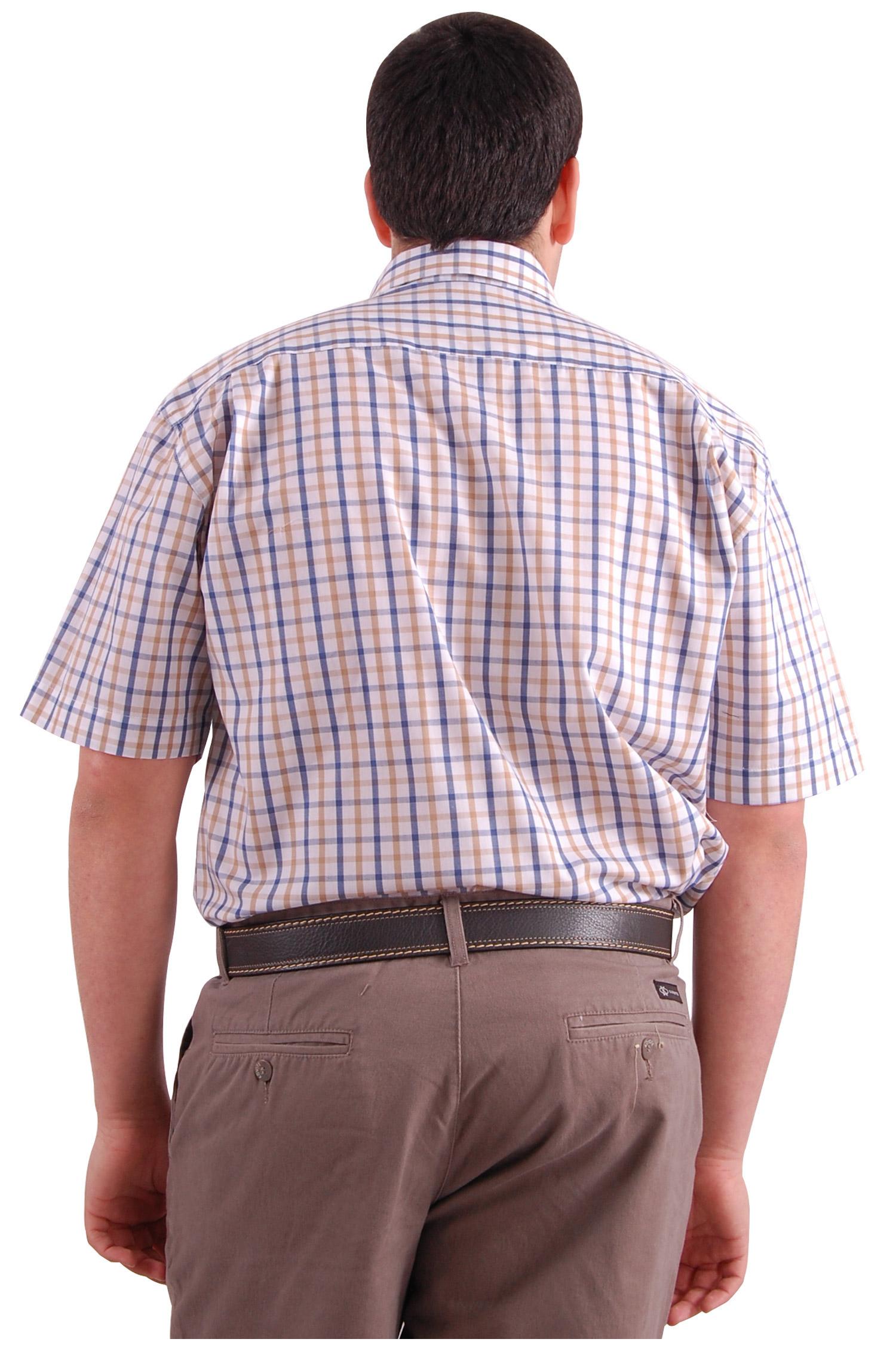 Camisas, Sport Manga Corta, 106567, BEIGE | Zoom