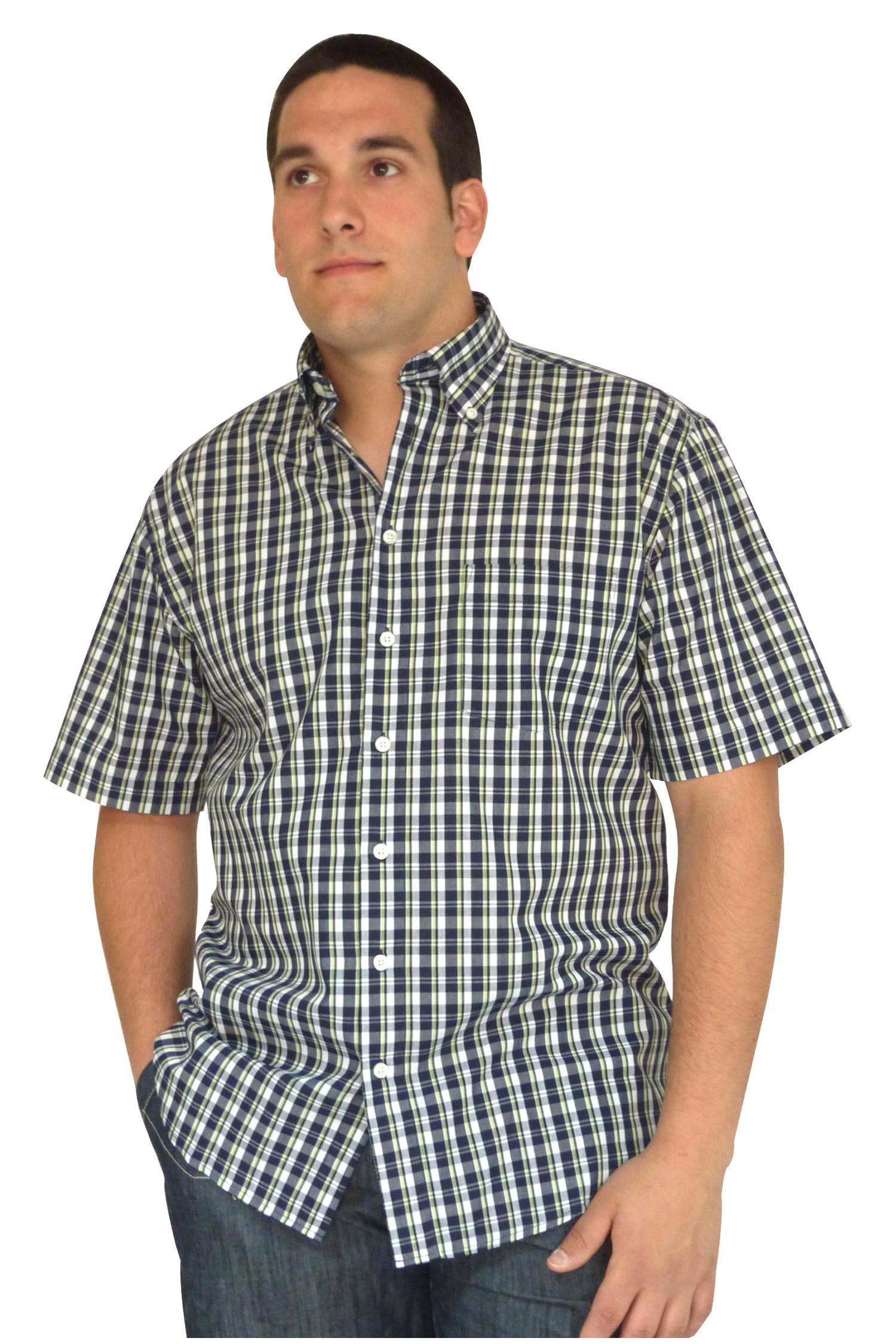 Camisas, Sport Manga Corta, 106568, VERDE | Zoom