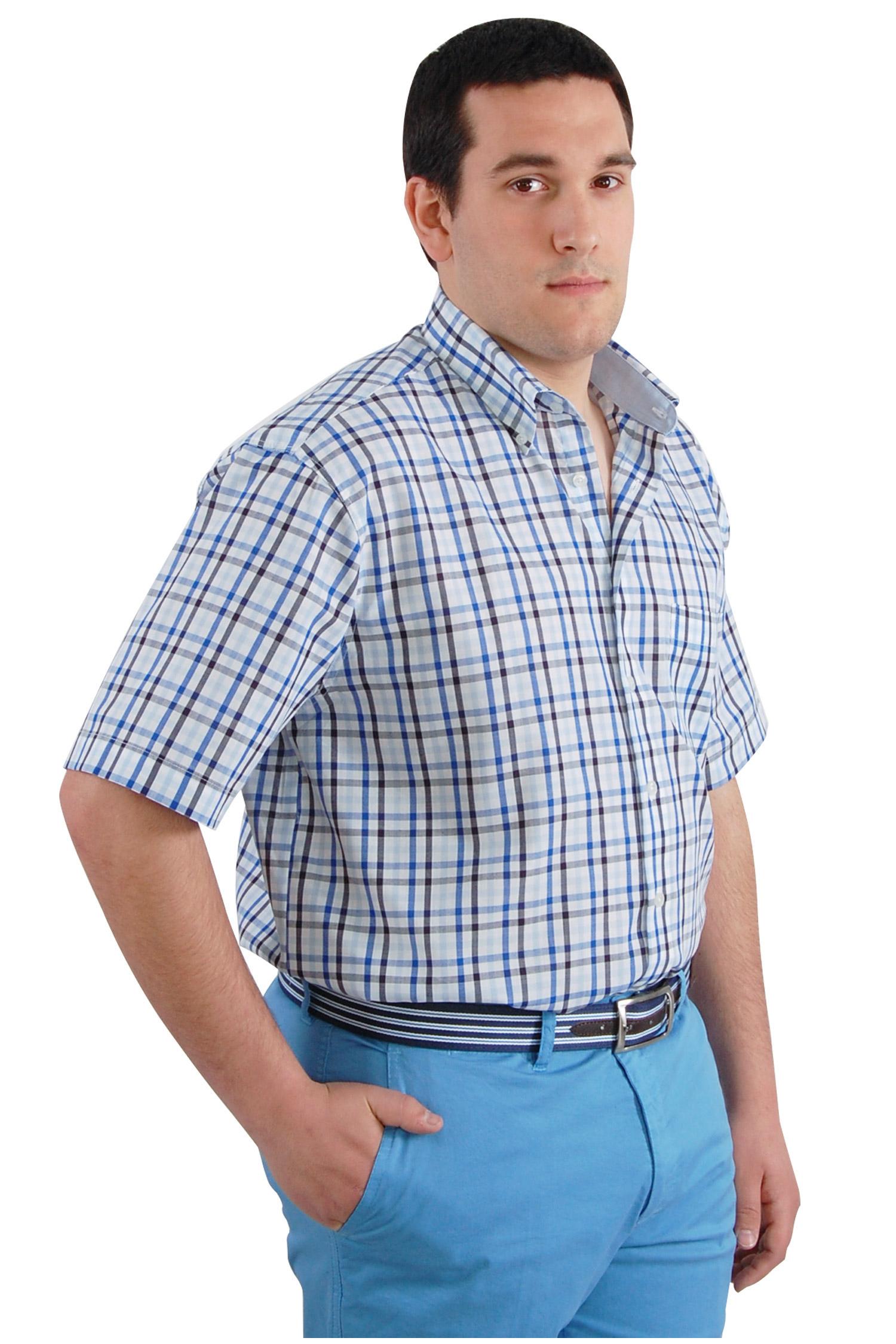 Camisas, Sport Manga Corta, 106569, MARINO | Zoom