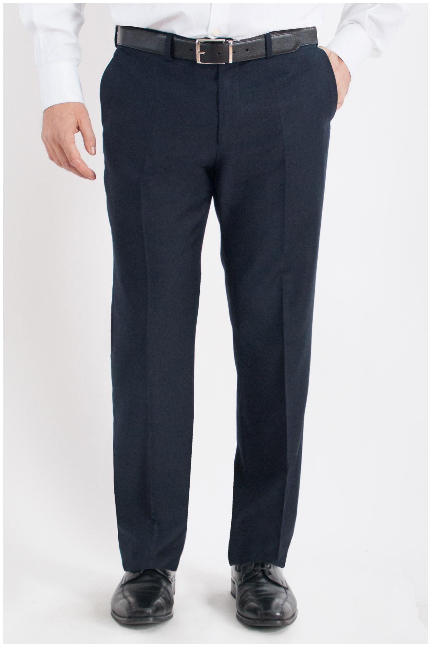 Pantalones, Vestir, 106747, MARINO | Zoom