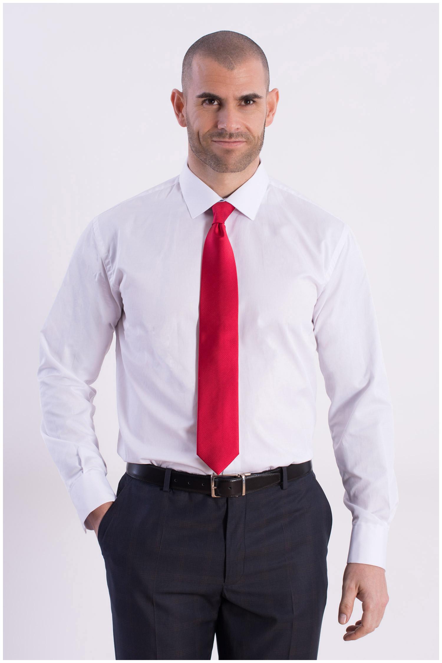 Camisas, Vestir Manga Larga, 106796, BLANCO | Zoom