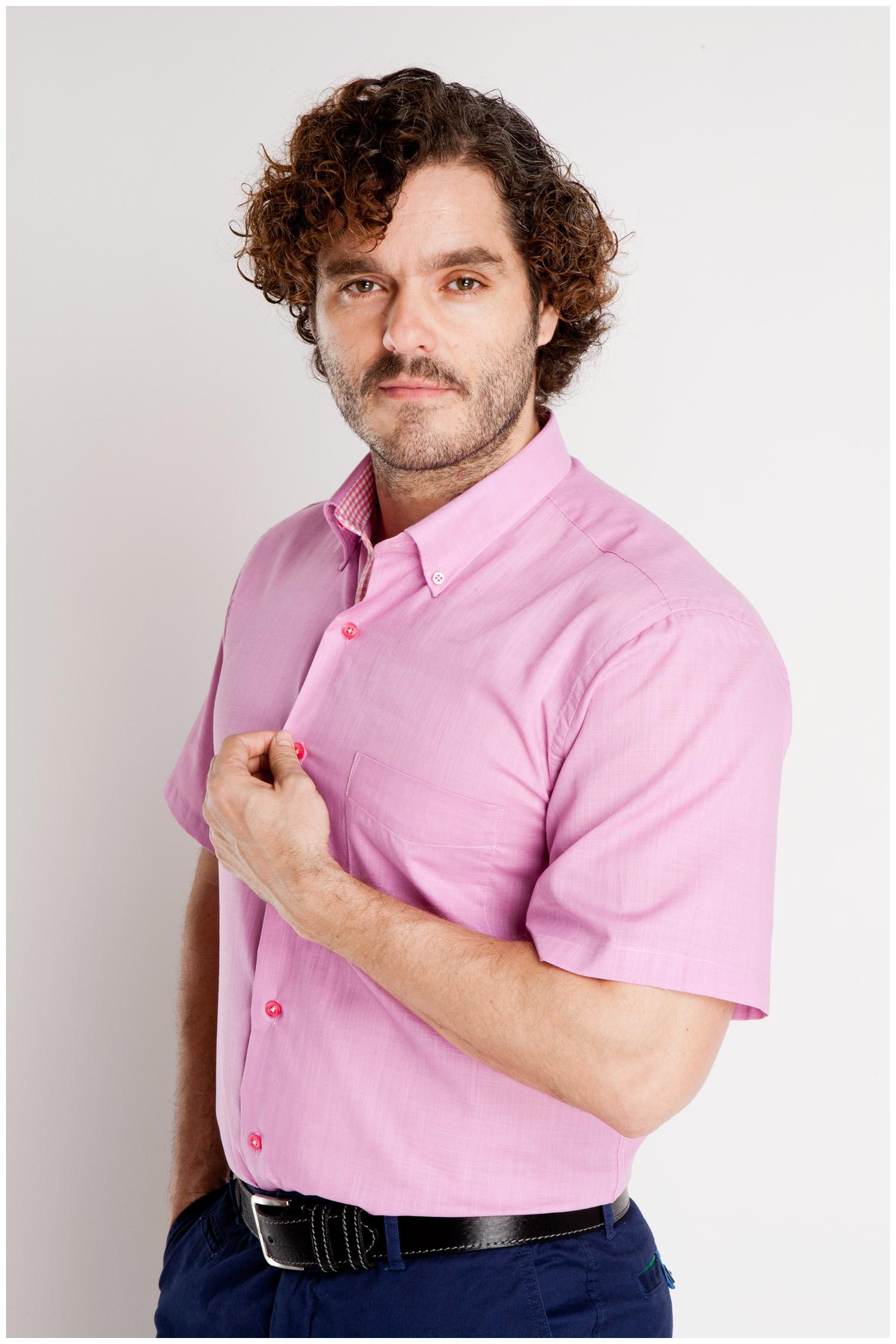 Camisas, Sport Manga Corta, 106797, FUCSIA | Zoom