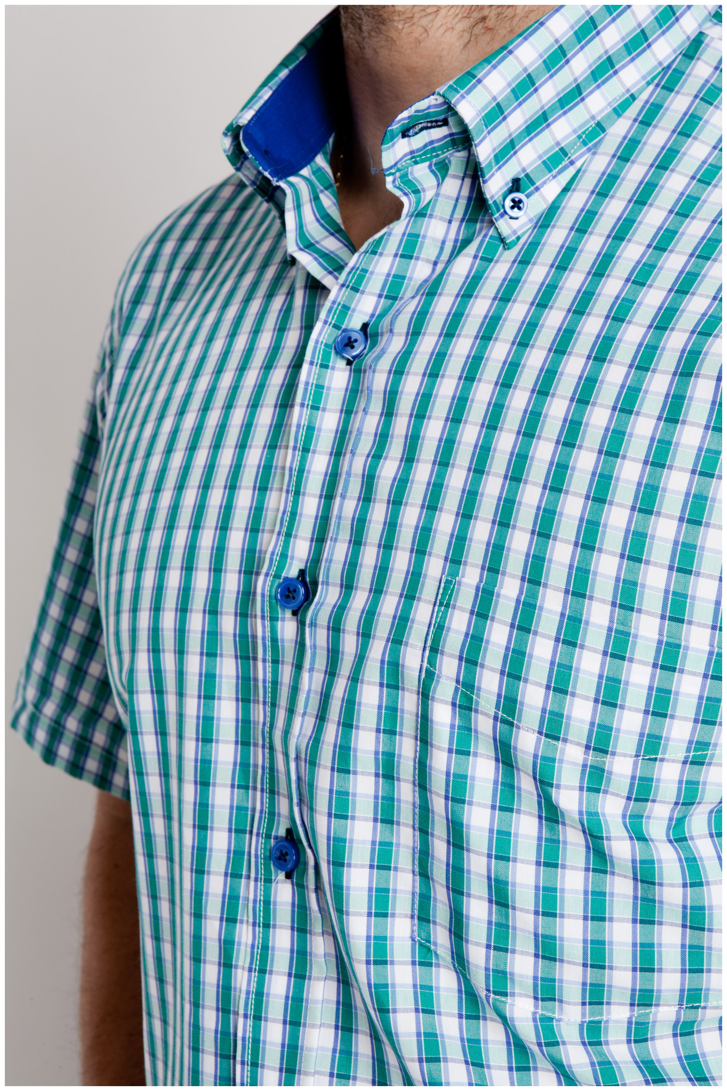 Camisas, Sport Manga Corta, 106799, VERDE | Zoom